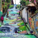Escalinatas de Cantarranas en honor a Berta Cáceres reciben magnifica restauración