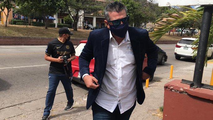Diego Vásquez interpone denuncia ante el Conadeh contra la Comisión de Disciplina