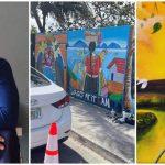 El artista Jerson Avelar embellece Peña Blanca con sus murales para incentivar el turismo