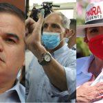 Yani, Tito y Xiomara ganan candidaturas en sus partidos, según primeras encuestas a boca de urna