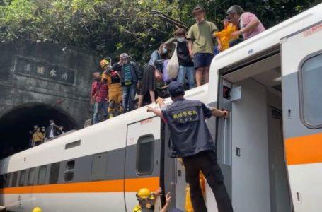 Al menos 51 muertos en un accidente de tren en Taiwán
