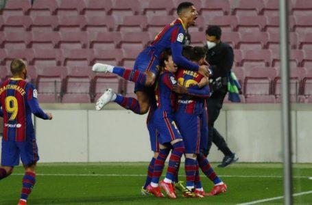 Barcelona derrota al Valladolid, queda a un punto del líder y va por el clásico con Real Madrid
