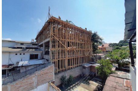 Avanza construcción del Centro de Apoyo Integral para el Niño con Cáncer en la capital