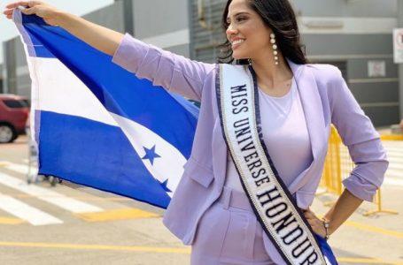 Miss Honduras Universo partió del país para el certamen que se desarrollará en EE.UU.