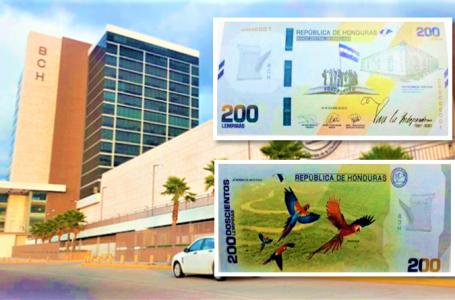 Billete de L. 200 no creará inflación y disminuirá la brecha entre nominaciones