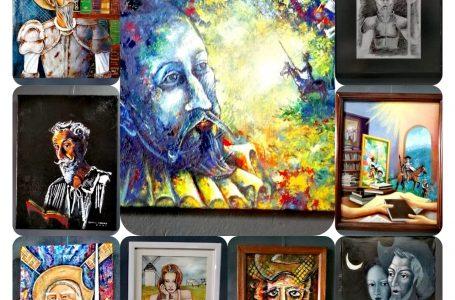AHAP presentó exposición artística en Algún Lugar de la Mancha