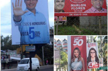 Gasto publicitario en las elecciones pasadas fue de más L. 55 millones