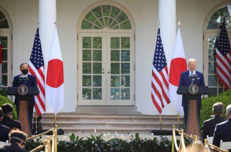 """Biden declaró que Japón y EE.UU. enfrentarán juntos """"los desafíos que plantea China"""""""