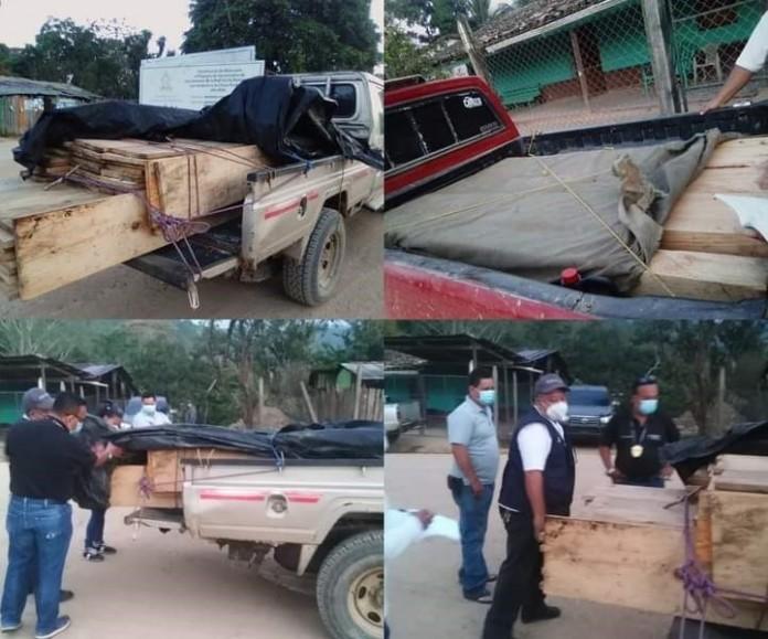 Auto de formal procesamiento para seis personas porexplotación ilegal de madera