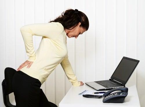 Dolores en la espalda baja