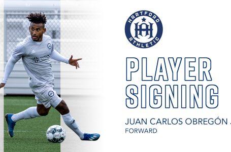 Hondureño Juan Carlos Obregón es fichado por el Hartford Athletic de la USL