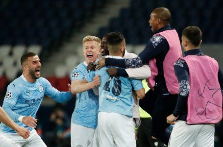 Manchester City remonta de visita ante el PSG y pone un pie en la final de Champions