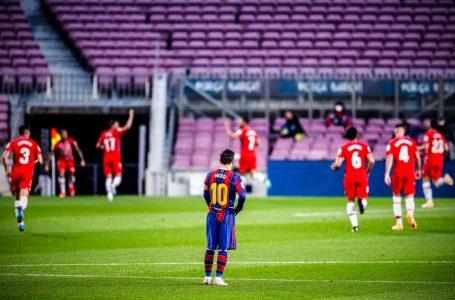 El Barcelona de Messi perdió con Granada y dejó pasar la chance de ser líder