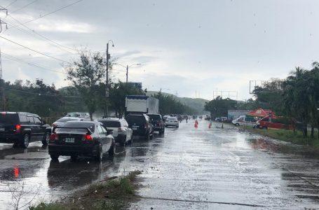 Veraneantes deben tener precaución en regreso a sus hogares por lluvias que continuarán