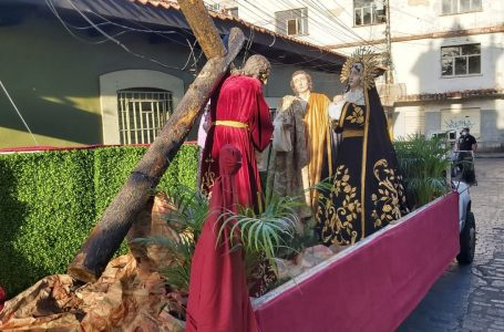 Iglesia Católica realiza Viacrucis virtual, en diferentes parroquias