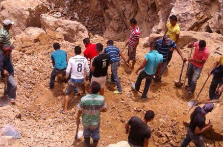 Al menos 4 personas quedan soterradas en mina de El Corpus, Choluteca