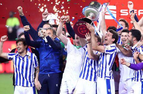 Real Sociedad se proclama campeón de la Copa del Rey 2019-2020