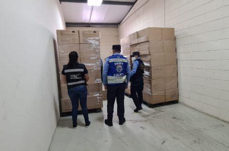 Autoridades decomisan 300 mil mascarillas por ingreso ilegal al país