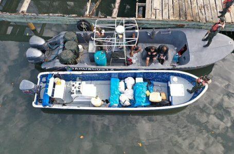 Incautan otros 93 kilos de cocaína en la zona atlántica del país
