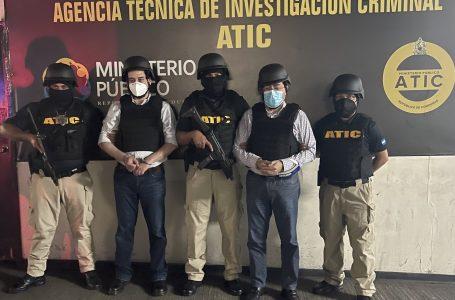 Detención judicial a Bográn y Moraes por fraude en compra de hospitales móviles