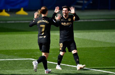 Con doblete de Griezmann Barcelona remonta al Villarreal y sigue en pelea por LaLiga
