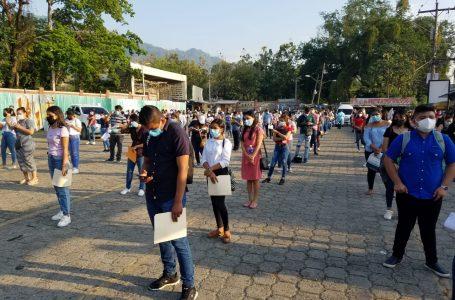 Se reprograma para este martes y miércoles la PAA en la UNAH del Valle de Sula