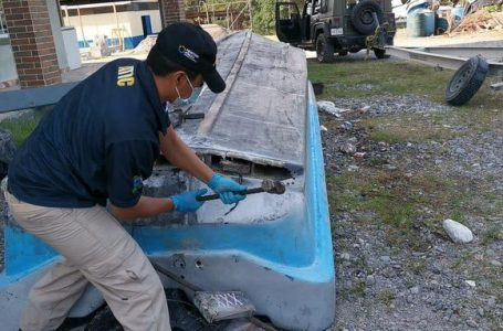 Próximo miércoles a audiencia inicial ocho lancheros capturados con 189 kilos de cocaína