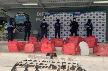A media tonelada de cocaína asciende lo incautado en Sonaguera, Colón