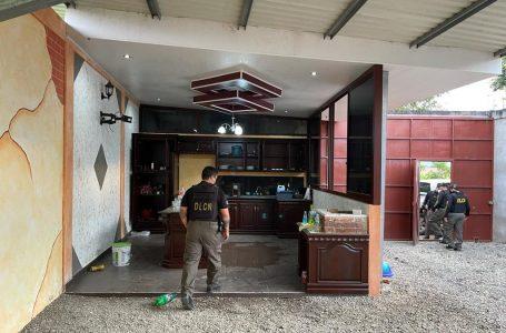 Ejecutan 14 allanamientos en Copán y SPS contra estructura criminal dirigida por extraditable hondureño