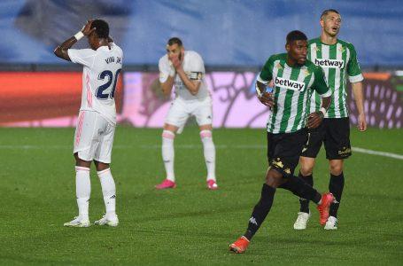 Real Madrid empata sin goles frente al Betis y se aleja todavía más de LaLiga