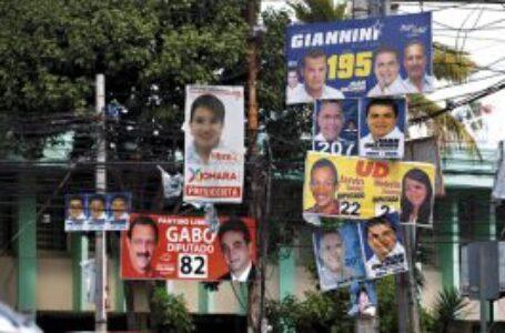 CNE advierte multas por incumplir ley en propaganda electoral