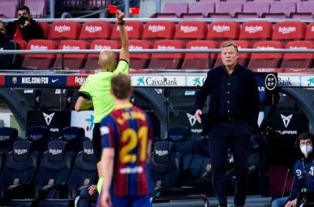 El Barça se jugará LaLiga sin Koeman, tras recibir dos partidos de sanción