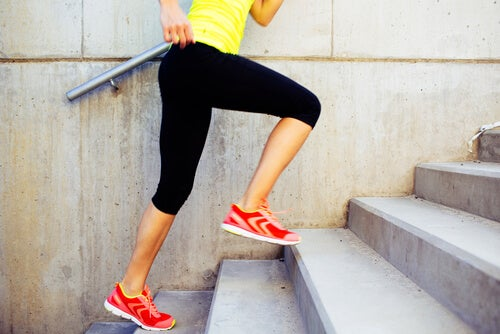 Subir y bajar escaleras