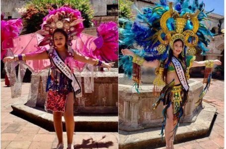 Hondureñas galardonadas en festival de belleza en Guatemala