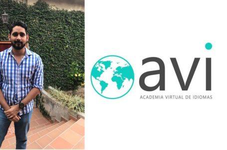 Álvaro Zelaya, universitario que durante la pandemia fundó una Academia Virtual de Idiomas