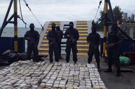 Autoridades destacan el decomiso de unas 13 toneladas de droga durante el 2021