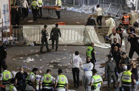 Estampida en Israel deja al menos 44 muertos y unos 150 heridos