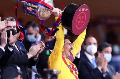 Barcelona se corona campeón de la Copa del Rey con un un brillante Messi