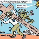 El Vía Crucis del pueblo…!