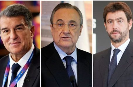La UEFA abre expediente sancionador contra Real Madrid, Barcelona y Juventus