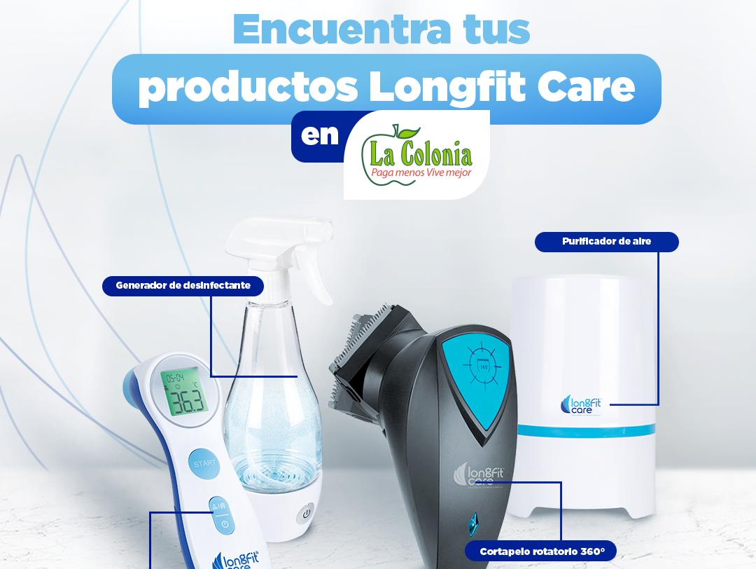 Productos para el cuidado personal de Long Fit Care están en Supermercados La Colonia