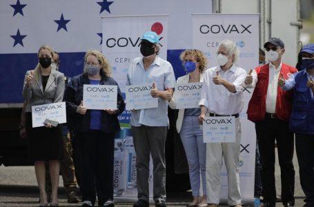 Salud reconocen que sin el mecanismo Covax, Honduras «no tendría vacunas»