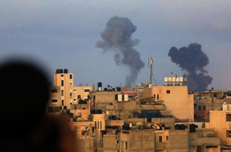 Bombardeos israelíes contra Gaza escala la tensión en la zona