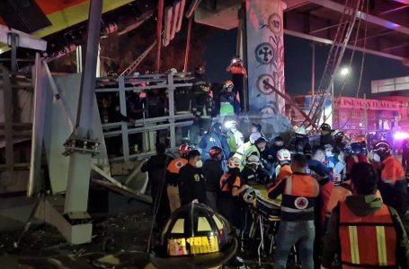Al menos 23 muertos por derrumbe de un tramo del metro de Ciudad de México