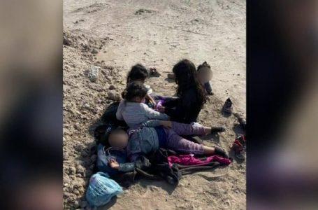 Hallan a 5 niñas migrantes abandonadas en la frontera de EEUU, entre ellas 3 hondureñas