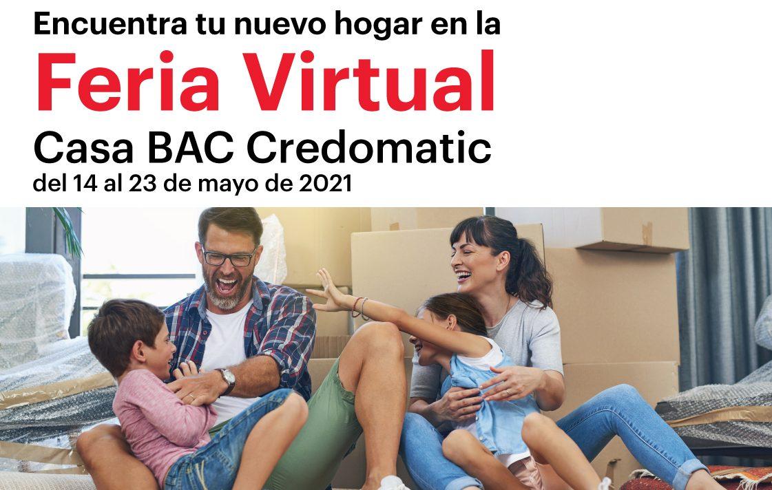 Regresa la Feria Virtual Casa BAC Credomatic con los mejores beneficios