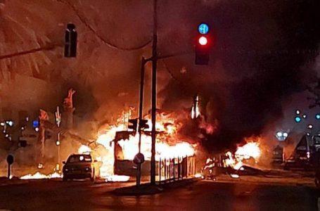 Se intensifica la escalada de tensión entre palestinos e israelíes con bombardeos