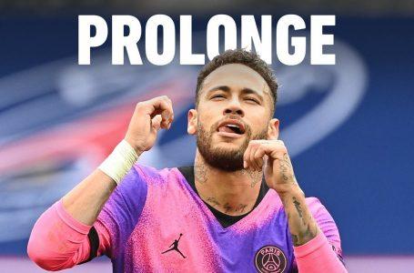 Neymar renueva con el PSG hasta 2026, según L'Equipe