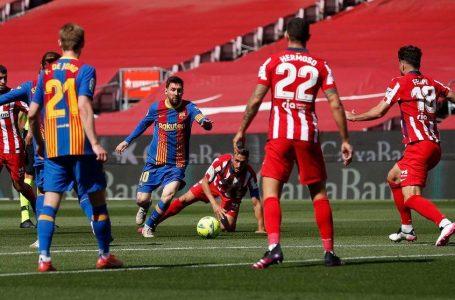 Barcelona y Atlético empataron sin goles y dejan el camino libre al Real Madrid