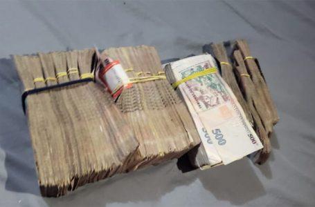 En posesión de más de 2 millones de lempiras es detenido un ciudadano en Omoa